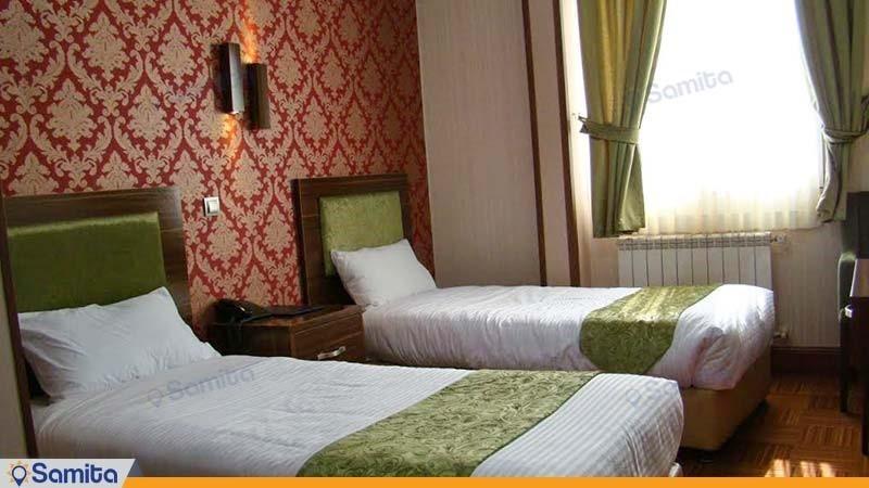 اتاق دو نفره هتل شهریار