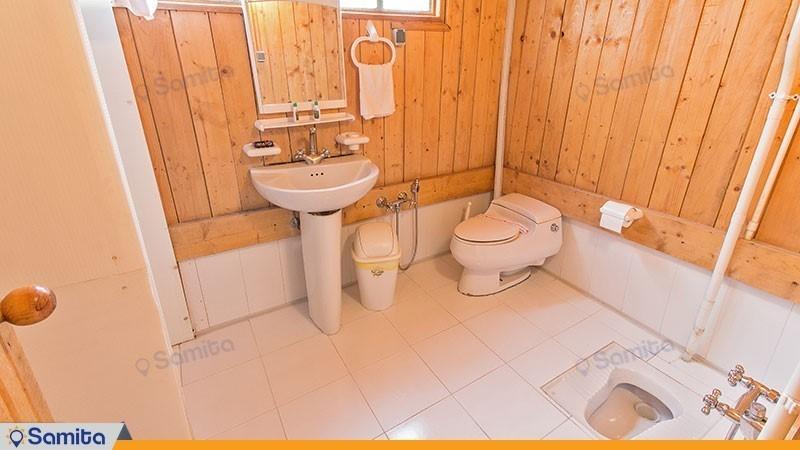 سرویس بهداشتی کلبه ی توسکا هتل چالدره