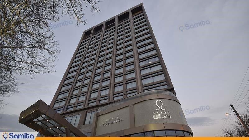 نمای ساختمان هتل آنا ارومیه