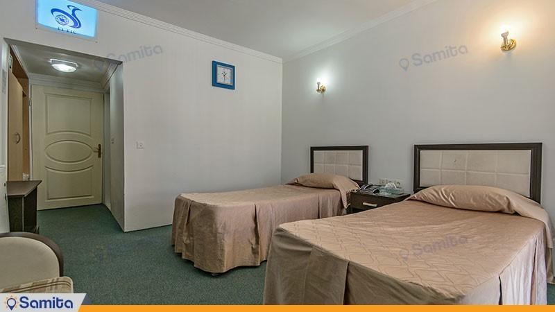 اتاق دو تخته هتل جهانگردی خوی