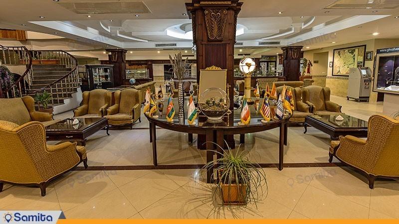 لابی هتل بین المللی پارک