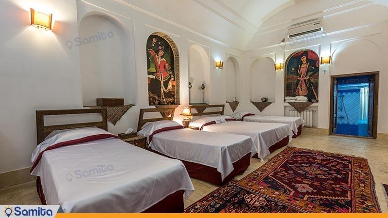 اتاق پنج تخته هتل سنتی فهادان