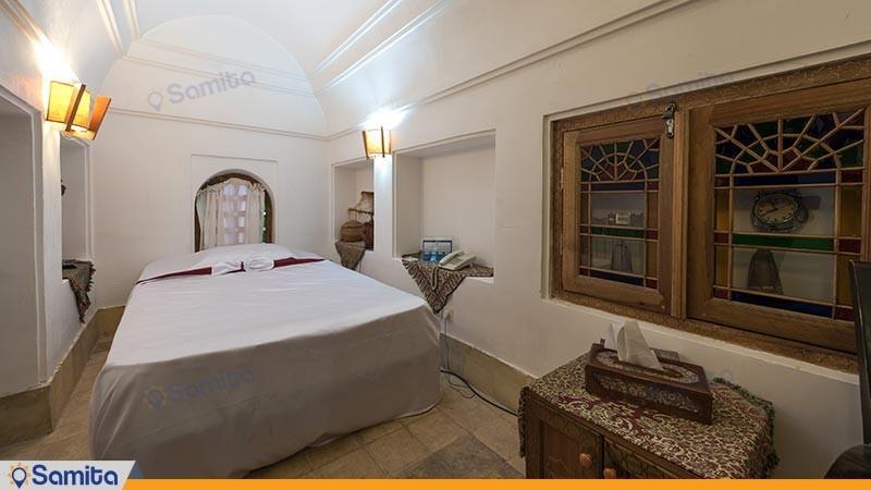 اتاق یک تخته هتل سنتی فهادان