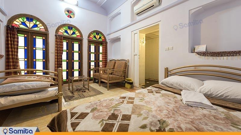اتاق سه تخته هتل سنتی کوروش