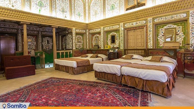 اتاق آدم و حوا هتل سنتی ملک التجار