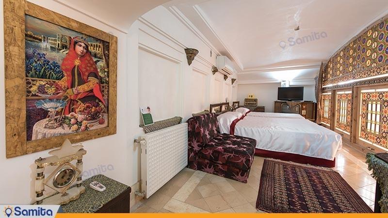 اتاق شیرین و فرهاد هتل سنتی ملک التجار