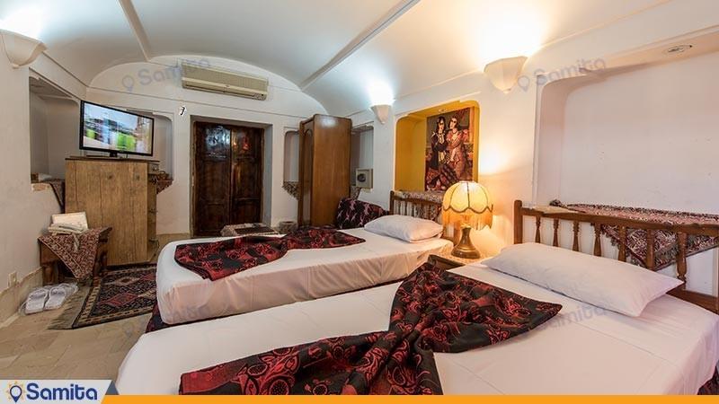 اتاق دو تخته توئین هتل سنتی مهر