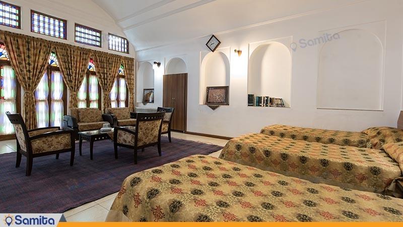 اتاق سه تخته هتل سنتی مظفر