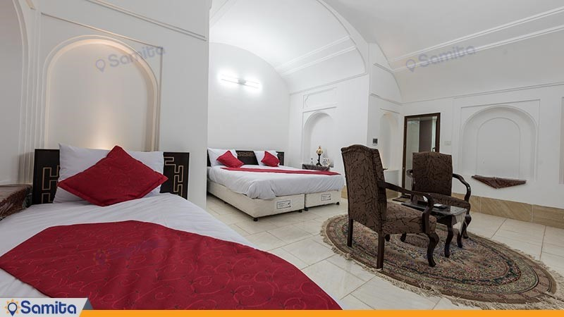 اتاق سه تخته هتل سنتی رویای قدیم