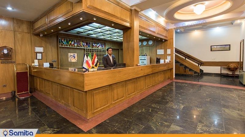 پذیرش هتل جهانگردی