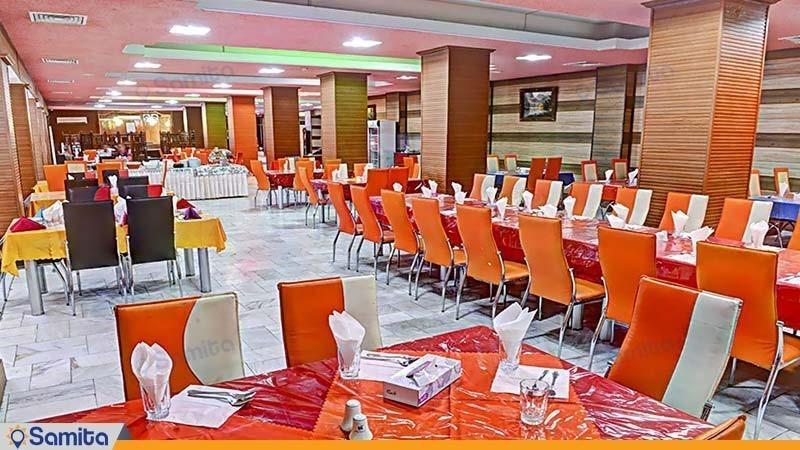 رستوران هتل جهانگردی زاهدان