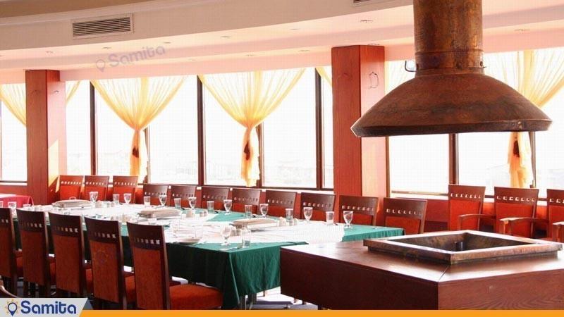 رستوران فام هتل بزرگ زنجان