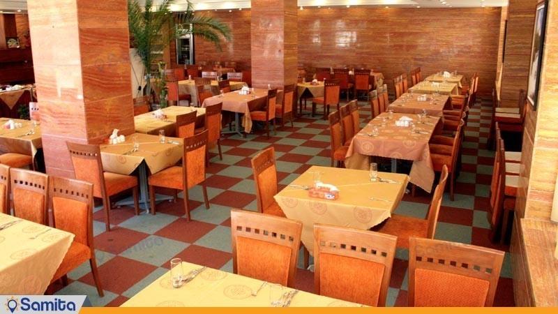 رستوران هتل بزرگ زنجان