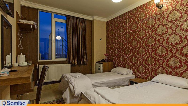 اتاق دو تخته هتل زنده رود
